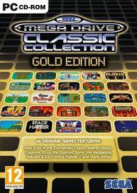 Portada oficial de Sega Mega Drive Classic Collection Gold Edition para PC
