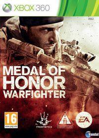 Portada oficial de Medal of Honor: Warfighter para Xbox 360