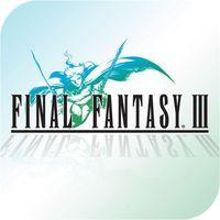 Portada oficial de Final Fantasy III para iPhone
