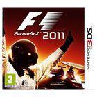 Portada oficial de F1 2011 para Nintendo 3DS
