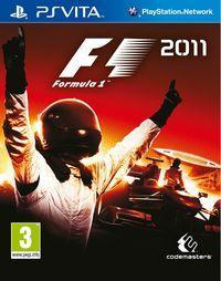 Portada oficial de F1 2011 para PSVITA