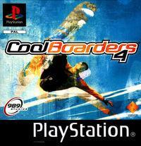 Portada oficial de Cool Boarders 4 para PS One