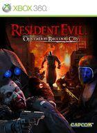 Portada oficial de Resident Evil: Operation Raccoon City para Xbox 360