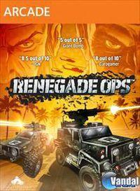 Portada oficial de Renegade Ops XBLA para Xbox 360