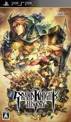 Portada oficial de Grand Knights History para PSP