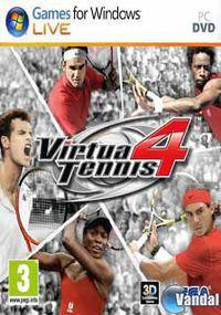 Portada oficial de Virtua Tennis 4 para PC