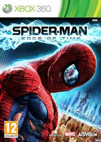 Portada oficial de Spider-Man: Edge of Time para Xbox 360