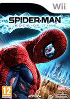 Portada oficial de Spider-Man: Edge of Time para Wii