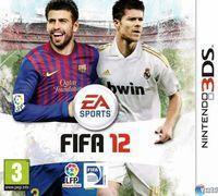 Portada oficial de FIFA 12 para Nintendo 3DS