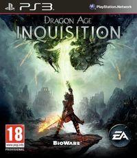 Portada oficial de Dragon Age Inquisition para PS3
