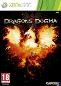 Portada oficial de Dragon's Dogma para Xbox 360