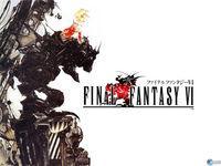 Portada oficial de Final Fantasy VI PSN para PSP
