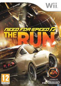 Portada oficial de Need for Speed: The Run  para Wii