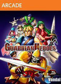 Portada oficial de Guardian Heroes XBLA para Xbox 360
