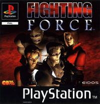 Portada oficial de Fighting Force para PS One