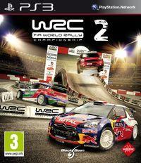 Portada oficial de WRC 2 para PS3