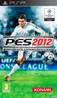 Portada oficial de Pro Evolution Soccer 2012 para PSP