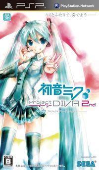 Portada oficial de Project Diva 2nd para PSP