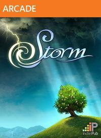 Portada oficial de Storm XBLA para Xbox 360