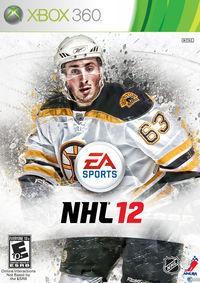Portada oficial de NHL 12 para Xbox 360