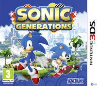 Portada oficial de Sonic Generations para Nintendo 3DS