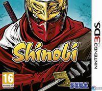 Portada oficial de Shinobi para Nintendo 3DS