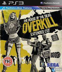 Portada oficial de The House of the Dead: Overkill Extended Cut para PS3