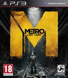Portada oficial de Metro: Last Light para PS3