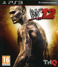 Portada oficial de WWE 12 para PS3