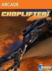 Portada oficial de Choplifter HD XBLA para Xbox 360