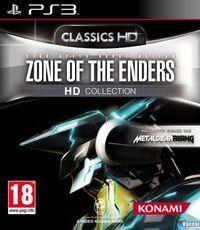 Portada oficial de Zone of the Enders HD Collection para PS3
