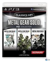 Portada oficial de Metal Gear Solid HD Collection para PS3