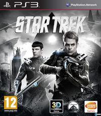 Portada oficial de Star Trek para PS3