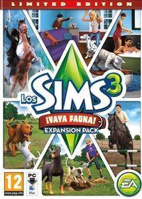 Portada oficial de Los Sims 3 ¡Vaya fauna! para PC