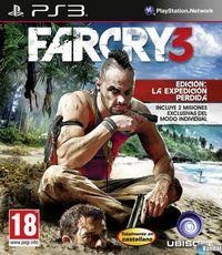 Portada oficial de Far Cry 3 para PS3