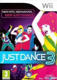 Portada oficial de Just Dance 3 para Wii