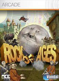 Portada oficial de Rock of Ages XBLA para Xbox 360