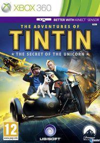 Portada oficial de Las aventuras de Tintín: El secreto del Unicornio para Xbox 360