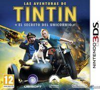 Portada oficial de Las aventuras de Tintín: El secreto del Unicornio para Nintendo 3DS