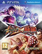Portada oficial de Street Fighter X Tekken para PSVITA