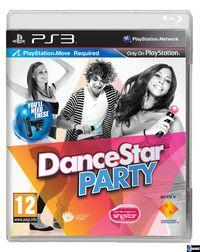 Portada oficial de DanceStar Party para PS3