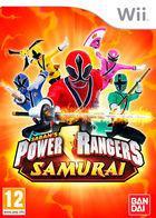 Portada oficial de Power Rangers Samurai para Wii