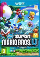 Portada oficial de New Super Mario Bros. U para Wii U