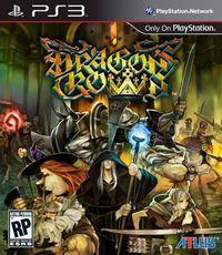 Portada oficial de Dragon's Crown para PS3