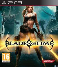 Portada oficial de Blades of Time para PS3