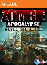 Portada oficial de Zombie Apocalypse: Never Die Alone XBLA para Xbox 360