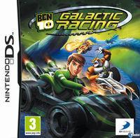 Portada oficial de Ben 10 Galactic Racing para NDS