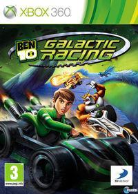 Portada oficial de Ben 10 Galactic Racing para Xbox 360