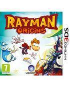 Portada oficial de Rayman Origins para Nintendo 3DS