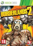 Portada oficial de Borderlands 2 para Xbox 360